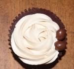 Cupcakes de Ganaché de chocolate yBaileys