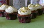 Cupcakes de pistachos y chocolateblanco