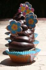 Cupcakes de naranja ynueces